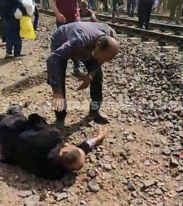 حادث قطار بنها القليوبية