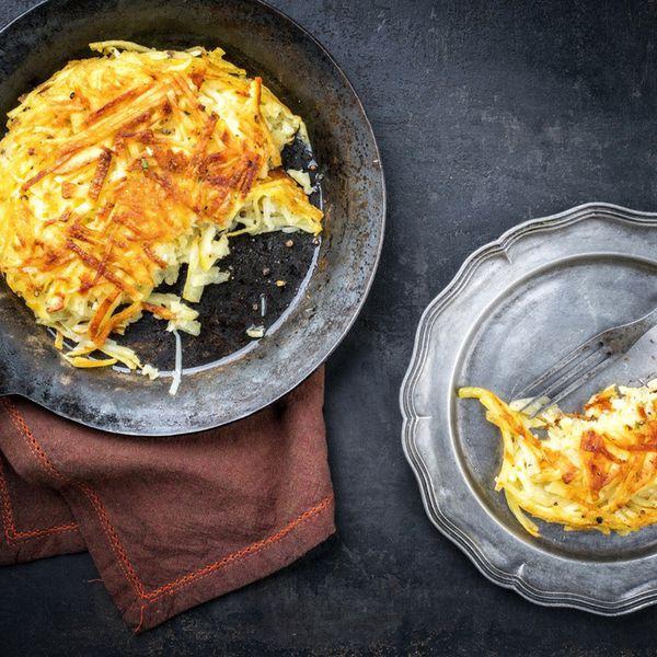 طريقة عمل بطاطس روستي