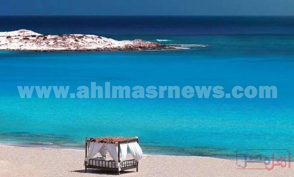خلو شواطئ مرسي مطروح في عيد الفطر المبارك