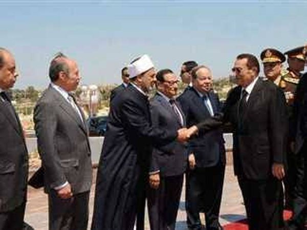 زيارة مبارك لمطروح