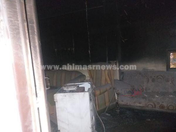 صور لموقع الحريق