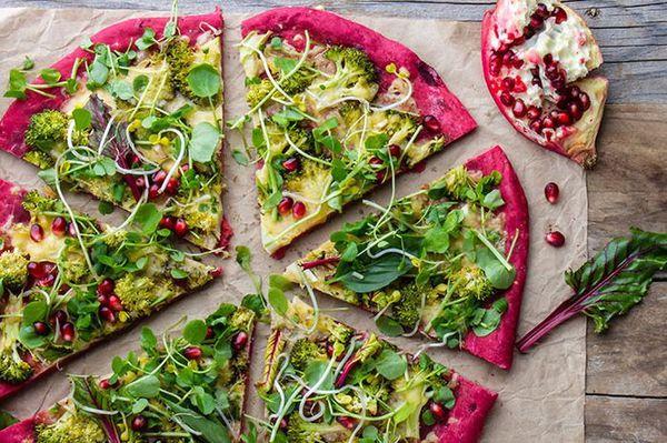 طريقة عمل بيتزا بالبنجر