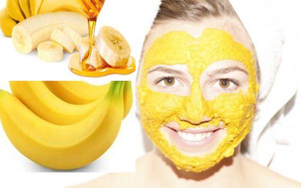 ماسك الموز والعسل واللبن