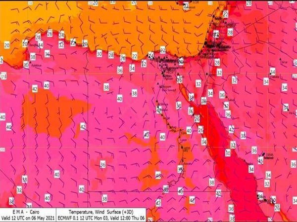 هيئة الأرصاد تحذر من ارتفاع درجات الحرارة خلال الثلاث أيام المقبلة