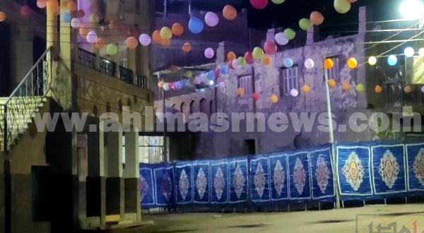 المسجد يستعد لإستقبال المصليين بالمنوفية
