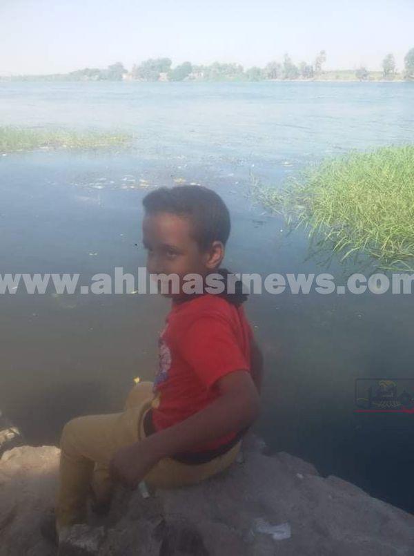 طفل دندرة الذي عُثر على جثته محترقة عارية بالمدافن