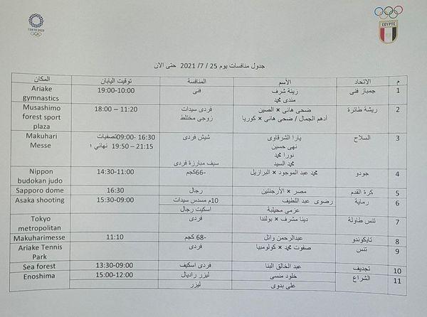 موعد مباراة منتخب مصر الأولمبي مع الارجنتين