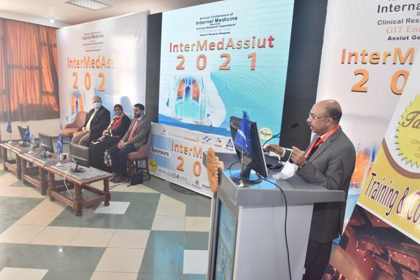 المؤتمر السنوى لقسم الباطنه بمستشفى أسيوط ااعام