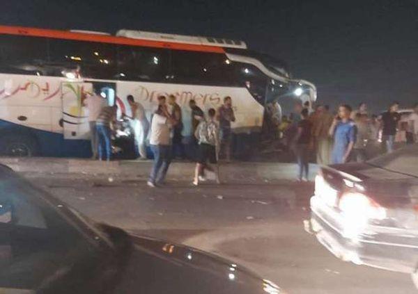 حادث تصادم مروع بطريق الإسكندرية الصحراو