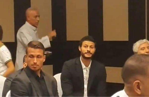 محمد الشناوي يحضر فرح أفشة