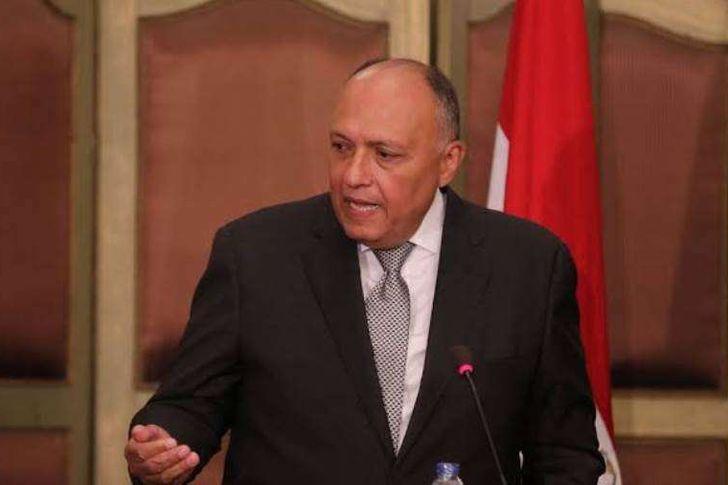 سامح شكري - وزير خارجية مصر