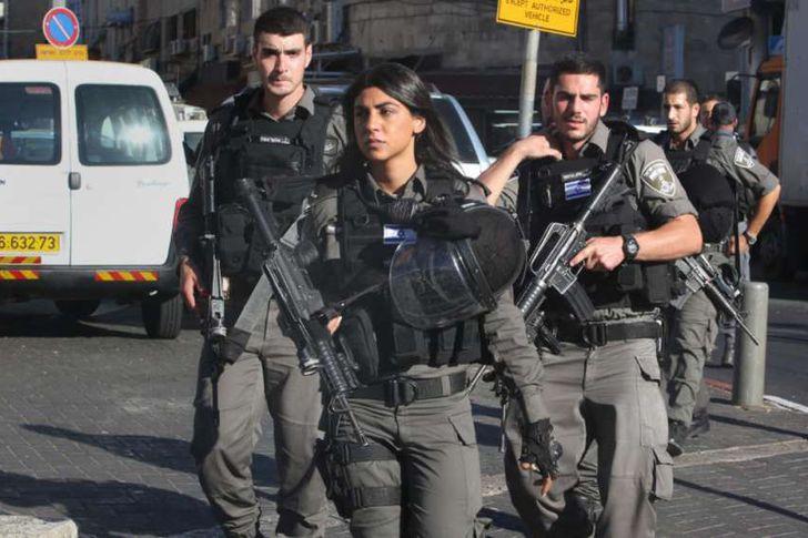 شرطو الاحتلال الإسرائيلي
