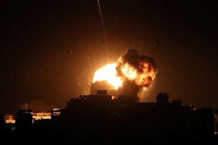 """غارات إسرائيلية على غزة """"أرشيفية"""""""