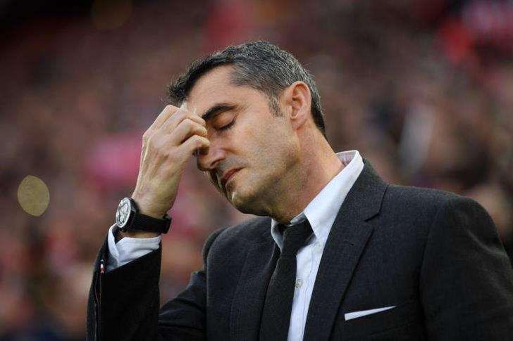 رئيس برشلونة أبلغ فالفيردي بفسخ التعاقد