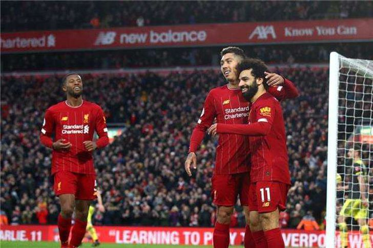 النيران الصديقة تقود ليفربول لعبور شروسبري تاون والتأهل للدور الخامس بكأس الاتحاد الإنجليزي