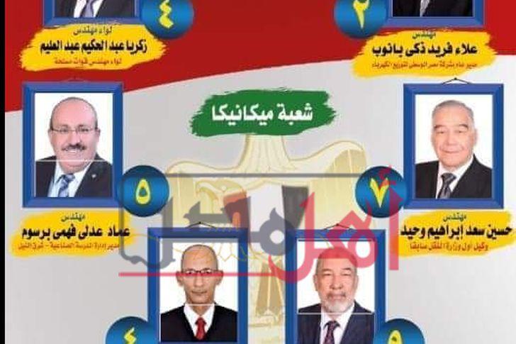 انتخابات التجديد النصفي بنقابة المهندسين في المنيا
