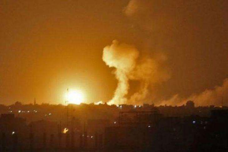 جيش الاحتلال يشن غارات جديدة على قطاع غزة