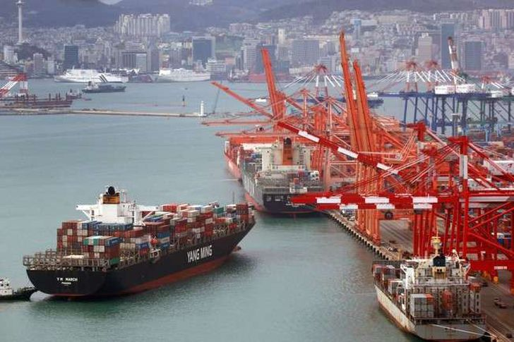 ارتفاع صادرات كوريا الجنوبية بنسبة 5ر4% في فبراير