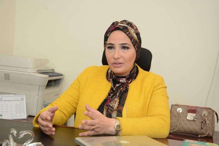 داليا السواح عضو جمعية رجال الاعمال المصريين