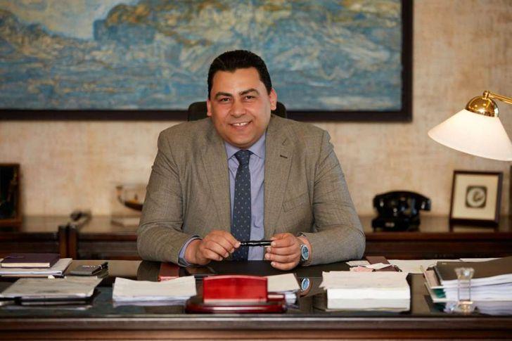 عادل حامد العضو المنتدب للشركة المصرية للاتصالات