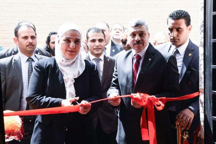 افتتاح المقر الخدمي للمجلس القومي لرعاية أسر الشهداء