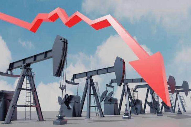 انهيار اسعار النفط