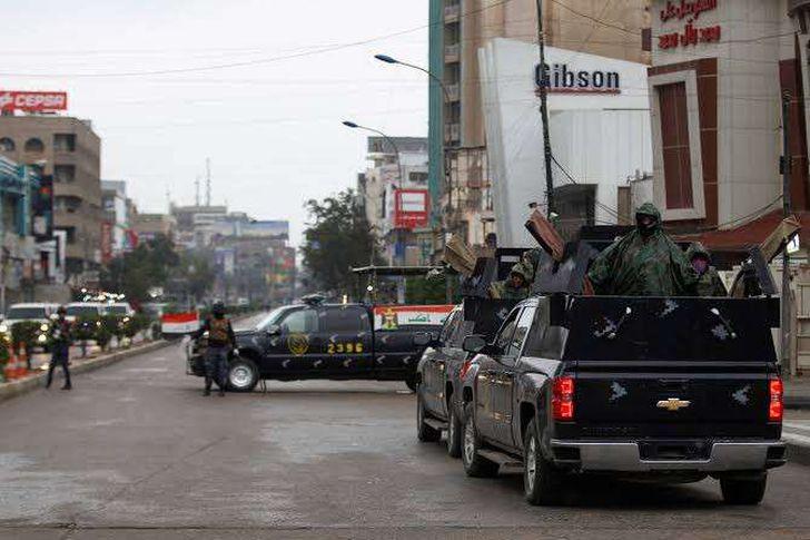 حظر التجوال في العراق