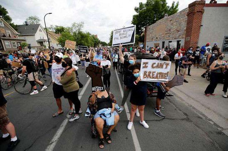 مظاهرات في امريكا