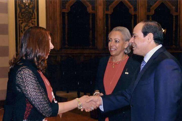 مقررة قومى المرأة ببورسعيد تبعث رسالة تقدير و شكر للرئيس عبد الفتاح السيسى