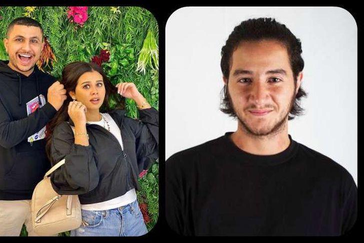 احمد مالك ومنة عرفة وعلي غزلان