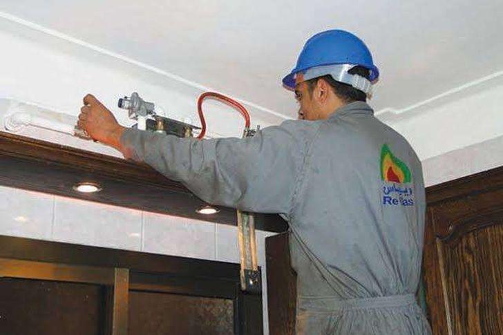 توصيل الغاز الطبيعي للمنازل