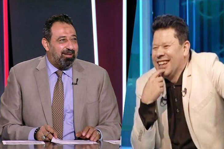 رضا عبد العال ومجدي عبد الغني