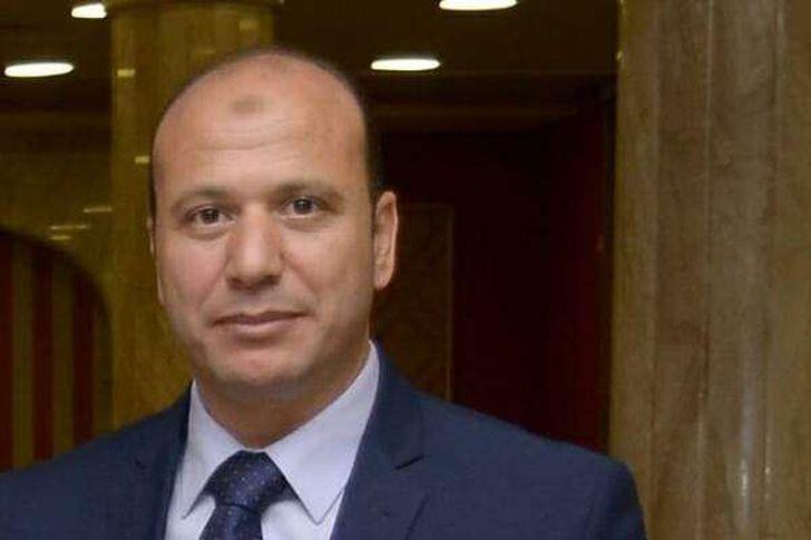 ياسر حشيش رئيس رابطة تجار البحيرة