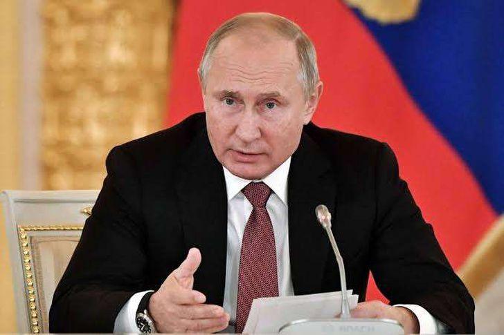 رئيس روسيا، فلاديمير بوتين