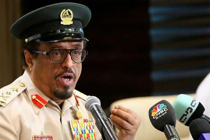 قائد شرطة دبي الأسبق ضاحي خلفان