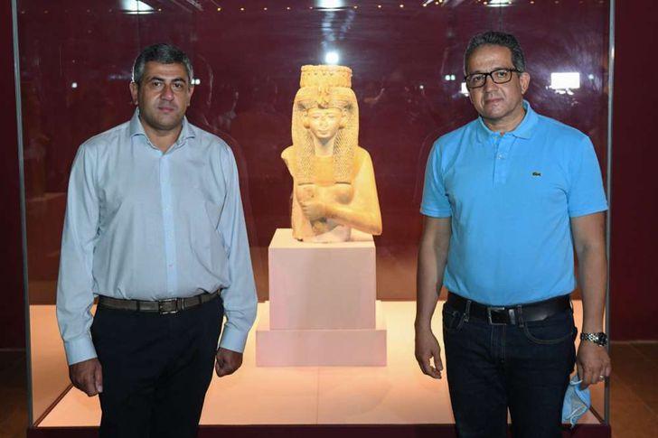 وزير السياحة وأمين منظمة السياحة العالمية يزوران متحف الغردقة