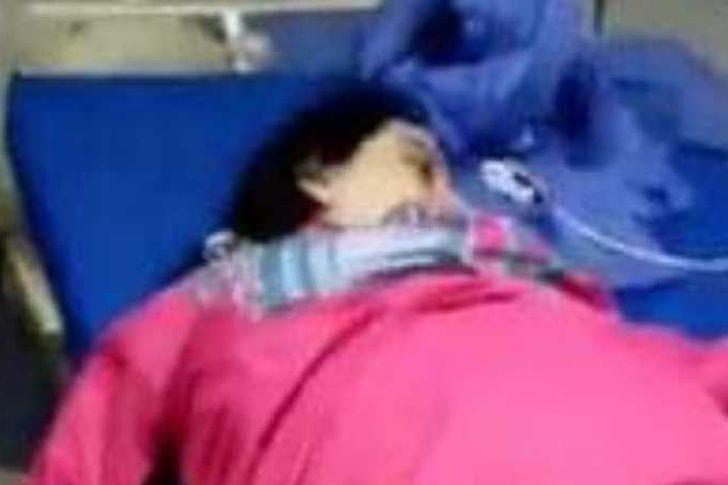السيدة المتوفية بمستشفى المنيا الجامعي