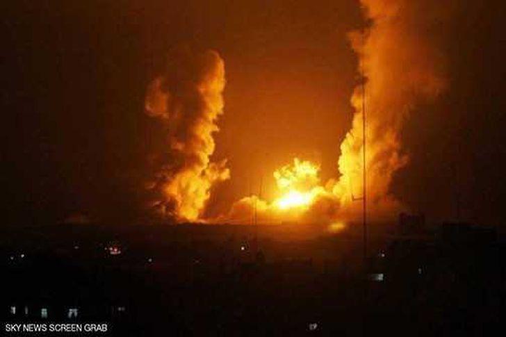 انفجارات عنيفة تهز العاصمة اليمنية إثر غارات للتحالف