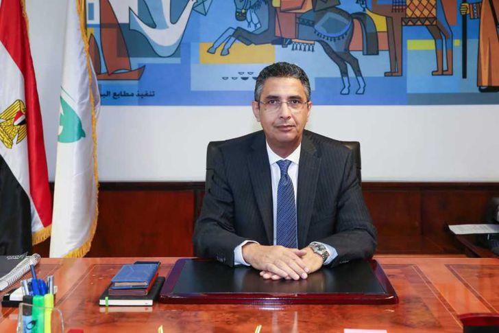 شريف فاروق رئيس هيئة البريد