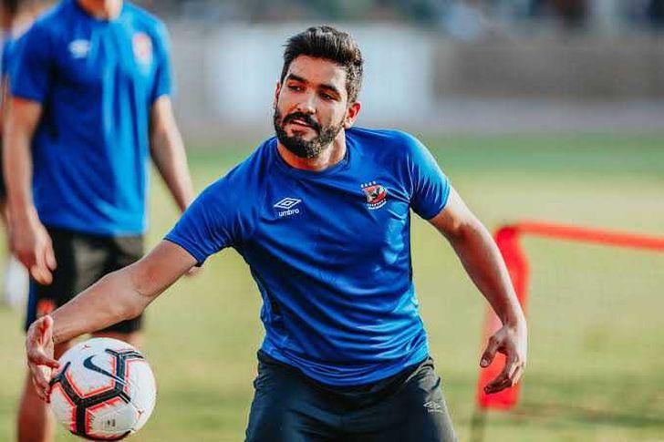 صالح جمعة لاعب النادي الأهلى