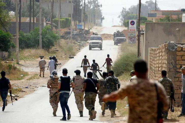 الحرب بالوكالة في ليبيا