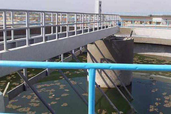 محطة معالجة مياة الصرف الصحي بمركز الزينية