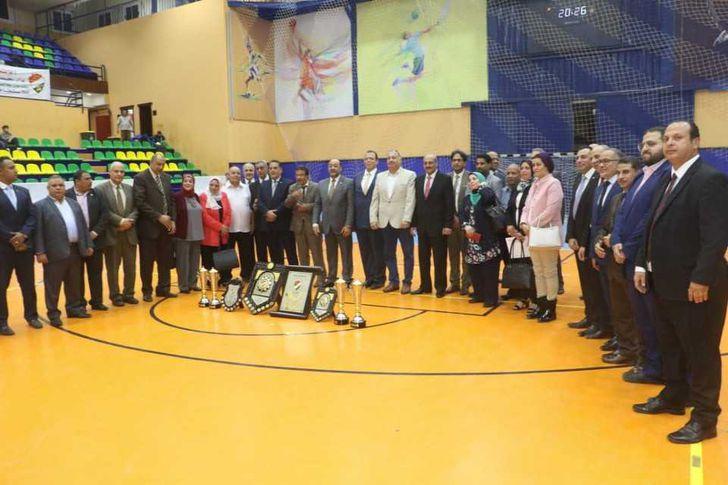 ختام دوري الشركات بالمدينة الرياضية ببورسعيد