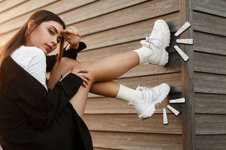 موضة  الأحذية الرياضية لشتاء 2021