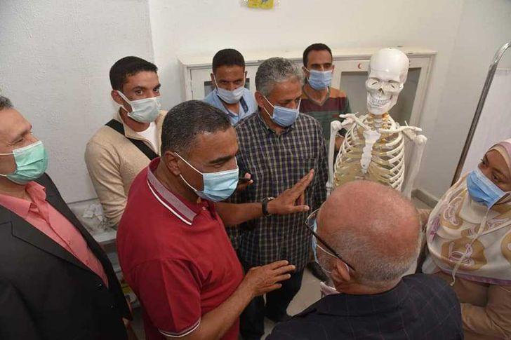 افتتاح مدرسة سيوة للتمريض بنين