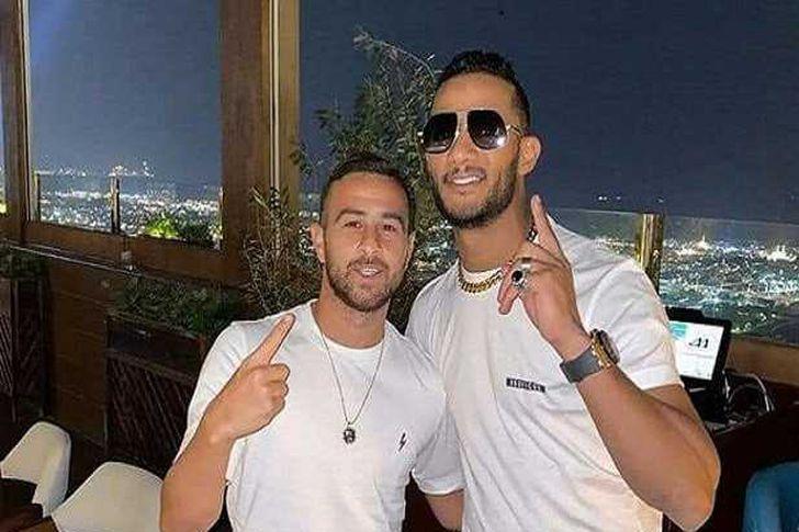 محمد رمضان ولاعب كرة قدم اسرائيلي