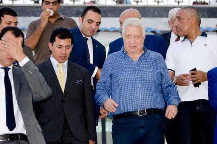 مرتضى منصور ووزير الرياضة