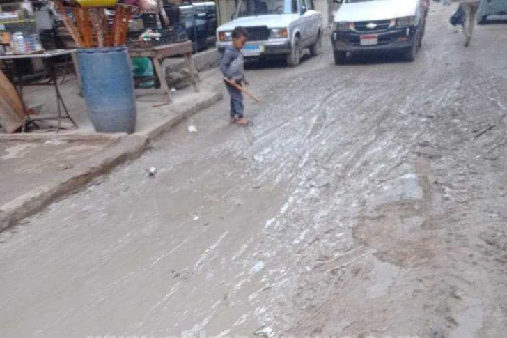 هطول أمطار غزيرة بالإسكندرية
