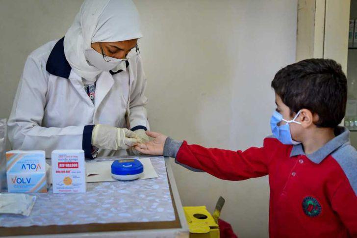 """وزيرة الصحة: فحص ٦٢٧ ألف طالب ضمن مبادرة الكشف المبكر عن """"الأنيميا والسمنة والتقزم""""  لطلاب المدارس خلال ٣ أيام"""