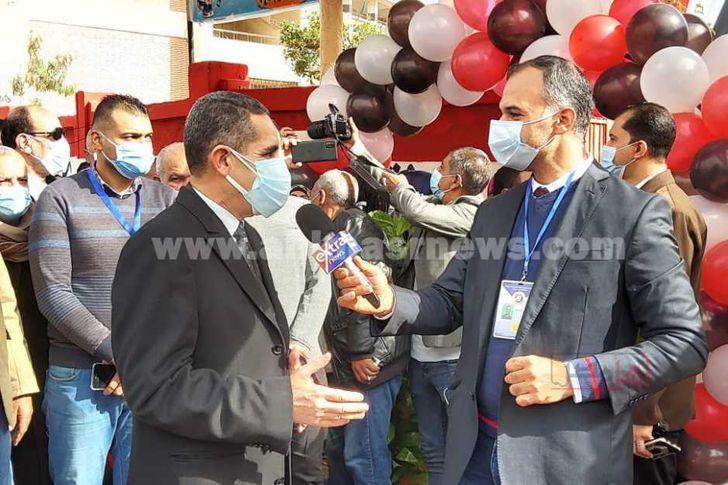 استقبال الناخبين بالبالونات والاعلام